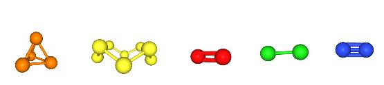 molecole di elementi non-metallici